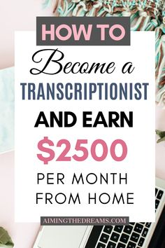 How to become Transcriptionist and earn money working from home. #transcriptionjobs #makemoneyfromhome #makemoneyonline #workfromhomejobs Work From Home Jobs, Make Money From Home, Make Money Online, How To Make Money, How To Become, Virtual Assistant Jobs, Survey Sites, Transcription, Like A Boss