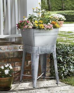 49 Best Galvanized Wash Tubs Images Wash Tubs