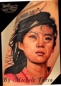 Full arm dedicated to Samurai-Work in progress By Michele Turco