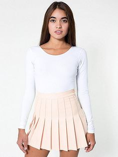 Tennis Skirt   American Apparel wow,I'm just using this for a drawing reference. It is so pretty.