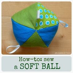 How to sew a ball (Tutorial)