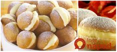 Luxusné mini šišky plnené krémom: Tento recept mal taký ohromný úspech, že ich teraz robím už len z dvojitej dávky! Pretzel Bites, Food And Drink, Bread, Cookies, Baking, Recipes, Crack Crackers, Brot, Biscuits
