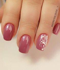 Nail Shapes - My Cool Nail Designs Pink Wedding Nails, Wedding Nails Design, Red Wedding, Cute Nails, Pretty Nails, Nail Dipping Powder Colors, Nagel Blog, Magic Nails, Diy Nail Designs