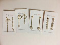 The pearl earrings