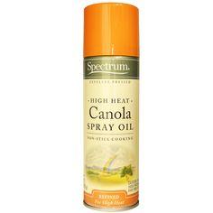 Spectrum Naturals, High Heat Canola Spray Oil, 6 oz (170 g)