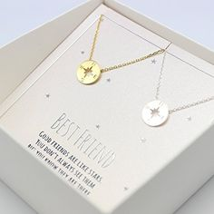 compass necklace, Best friend necklace for 2, BFF Necklace, friendship necklace for 2, silver dainty necklace, Christmas gift, Graduation gifts - http://rfernandez.otldemo.com/wp_timeless/compass-necklace-best-friend-necklace-for-2-bff-necklace-friendship-necklace-for-2-silver-dainty-necklace-christmas-gift-graduation-gifts/