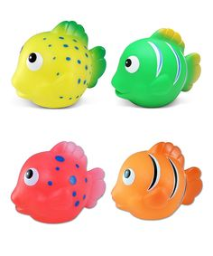 Reef Fish Under the Sea Bath Buddies Set