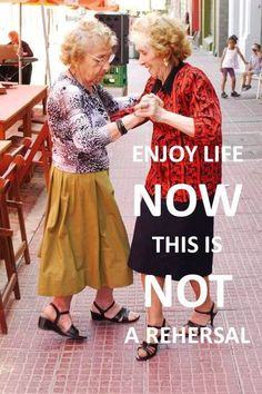 these ladies will be me and a couple friends of mine dancing on the sidewalk because we can!