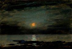 Moonlight on Water, c. 1905 Oil on paperboard Lockwood de Forest, American, 1850–1932. http://www.morsemuseum.org/assets/uploads/art/2008-015-20b.jpg