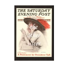 1912 First Vote .......... Vintage Saturday Evening Post Cover