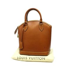 Louis Vuitton Lockit Nomade Handle bags Brown Leather M85388