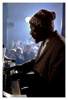 Thelonious Monk....jazz pianist