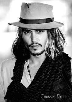 Johnny Depp - In my opinion the greatest actor in the world and not just because of his looks but his talent and devotion as well