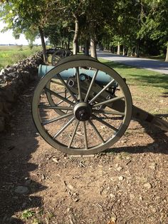 Howitzer at Gettysburg Battlefield