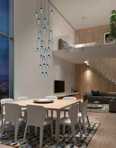 With DRIP & DROP, the goal was clear from the beginning: make a cascading pendant lamp. The result is a design with more than ten references that satisfies both residential and commercial sector needs.