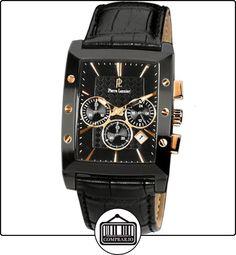 Pierre Lannier 295C433 - Reloj analógico de cuarzo para hombre con correa de piel, color negro de  ✿ Relojes para hombre - (Gama media/alta) ✿