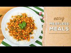 3 EASY Meatless Meals | Dinner Made Easy - YouTube