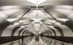 Underground in Moscow...I guess one of the most spectacules