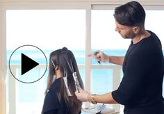 """Video HOW-TO: """"Contour Dusting"""" #behindthechair #balayage #hairpainting #haircolor"""