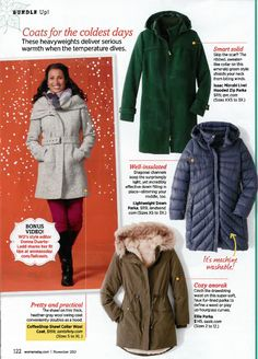 We're in the Women's Day Novemer issue!