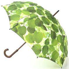 Ella Doran Kensington Umbrella - Sunlight Through Leaves