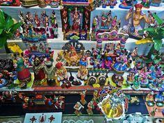 Dasara and Dolls. Golu/Gombe