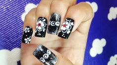 Pretty Cute Nail Art Designs Simple Easy Nail Art Paint Ideas (Part Simple Nail Art Designs, Toe Nail Designs, Beautiful Nail Designs, Easy Nail Art, Nails Design, Diy Nails, Cute Nails, Different Types Of Nails, Flower Nail Art
