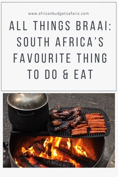 Today, in South Africa we celebrate Heritage Day or as we locals affectionately call it, Braai Day. This is no simple BBQ. It's a culinary experience that we have perfected into an art. In this blog, we 'dish' out all you need to know about it.