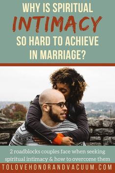How to achieve spiritual intimacy in your marriage--and why it can be so difficult! Advice for spouses who want to serve God together.