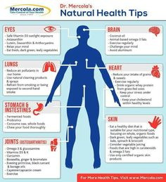 Some great natural health tips.