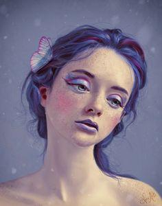 ArtStation - Violetta, Nazar Noschenko