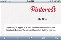 Pinterest ha una sicurezza dimmerda!