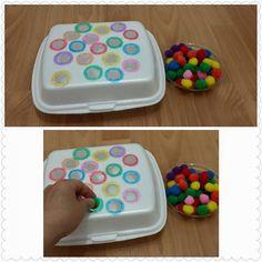 25 Montessori ideas - Preschool - Aluno On Toddler Fine Motor Activities, Mother's Day Activities, Montessori Activities, Color Activities, Educational Activities, Number Activities, Learning Colors, Fine Motor Skills, Preschool Crafts