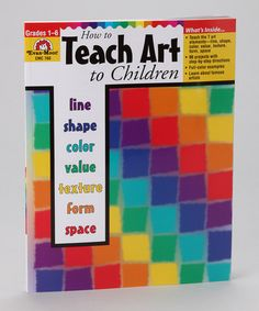 Take a look at this Teacher's Edition: How to Teach Art to Children: Grades 1 to 6 by Back to School: Educational Tools on #zulily today!