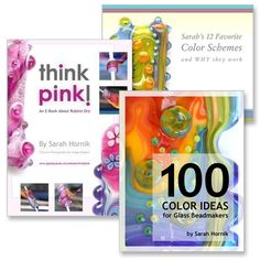 I love Sarah's e-books! I had them printed and bound - wonderful! THE COLOR PACK  3 Ebooks / Lampwork Tutorials  by sarahhornik, $45.00
