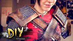DIY Cosplay · The Witcher 3 · Geralt of Rivia · Tutorial Goma Eva Foam L...