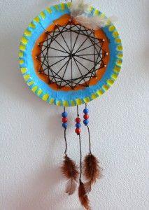 Indiánský lapač snů Spring Crafts, Dream Catcher, Art Projects, Arts And Crafts, Activities, Kids, Macrame, Home Decor, Happy Children