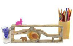 Holz-Display-Regal für kleine Schätze  dem zentralen von askamarmot
