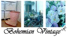 Bohemian Vintage: Trädgårdens viktigaste invånare! #15/100 Vintage Bohemian, Shower, Prints, Rain Shower Heads, Showers