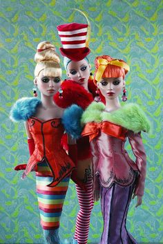 The Fashion Doll Chronicles: Dr. Seuss inspired