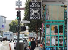 If you find yourself in San Francisco's Mission District, Dog Eared Books is a must-see. Carrying everything from McSweeney's new releases to New York Times best-sellers to one-of-a-kind out-of-prints, this S.F. spot is full of character.