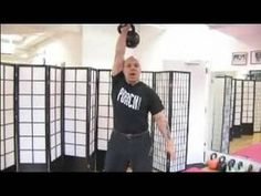 Kettlebell Workouts and Exercises : How to do a Clean & Press with Kettlebells