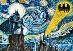 Batgogh lol my hubby would love this and needs to be in Corbins room :)
