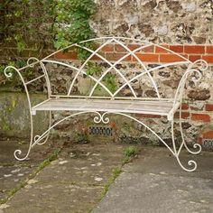 ACHICA | Chairworks Riviera Bench, White