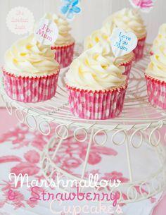 The Sweetest Taste: Cupcakes para el día de la madre ♥