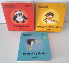 Hola:     Hoy os traigo unos libros que me encantan y que siempre siempre triunfan con los más pequeños de la casa.     Se trata de los 3 t...