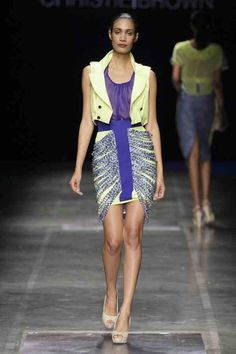 Ghana Rising: Christie Brown clothing show at Africa Fashion Week 2011