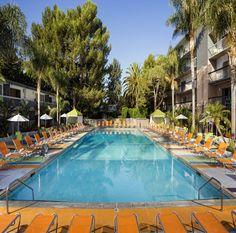 Sportsmen's Lodge - Daycation Largest hotel pool in San Fernando Valley