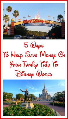 Ready to start planning your next family #vacation? See how these 5 ways to help save money on your family trip to Disney World can help. #Ad   #DisneyWorld #savingmoney