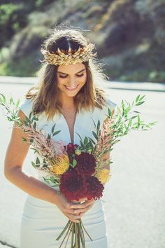 Southern California road trip elopement | Photo by Hailley Howard | Read more - http://www.100layercake.com/blog/?p=77465 #bohemian #wedding #style